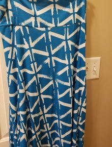 Lula Roe maxi skirt/dress 3x